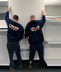 In-house trained crews for expert modular furniture installation