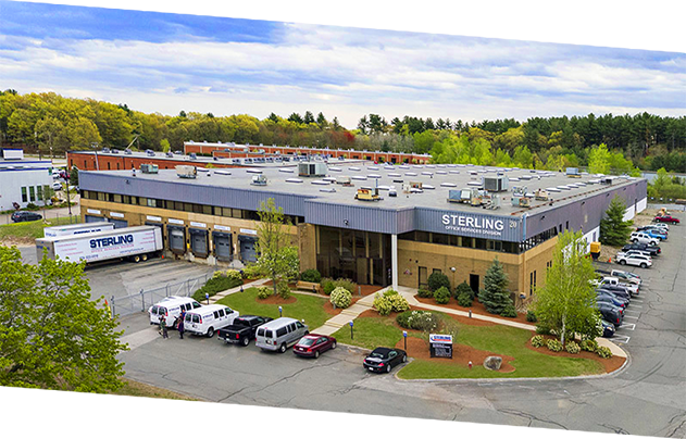 Sterling Corporation headquarters in Chelmsford, MA