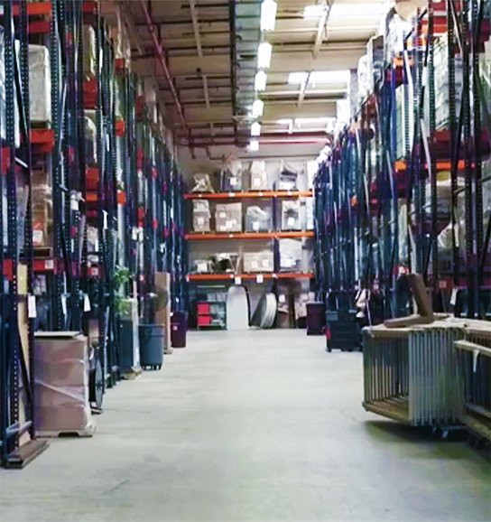 Sterling meets all your short or long-term warehousing and storage needs.